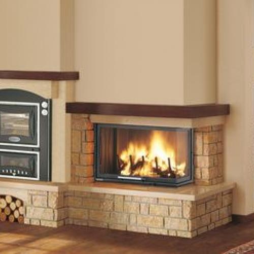 Caminetti a legna per la tua abitazione soluzioni - Caminetti con forno ...
